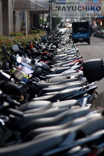 バイクがいっぱい